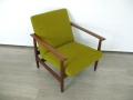 1960s Danish teak armchair
