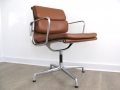 Softpad tan leather Eames chair
