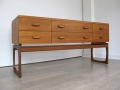 Teak Quadrille chest of drawers G Plan
