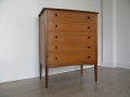 1950s teak stylised chest of drawers