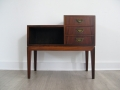 Danish rosewood bedside table