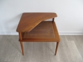 Minerva teak coffee table France & Son