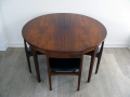 1960s rosewood dining suite