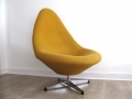 1960s wool egg chair