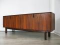 1960s brazilian rosewood sideboard