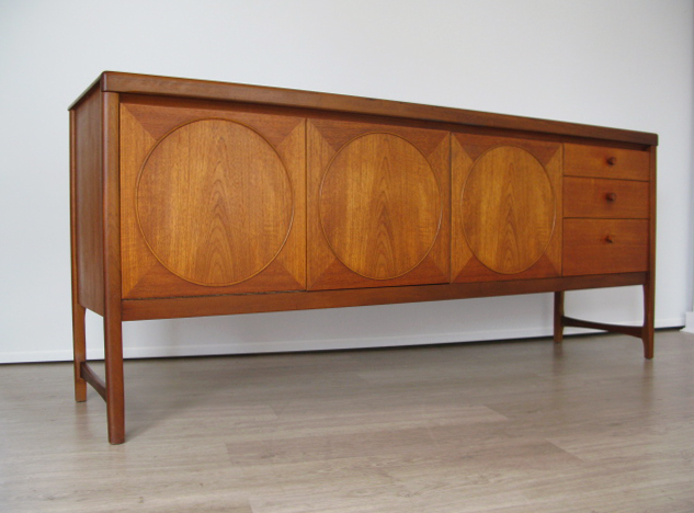 retro 70s furniture. 1960s teak circles nathan sideboard retro 70s furniture