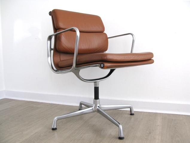 nice office chairs uk. Softpad Tan Leather Eames Chair Nice Office Chairs Uk