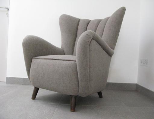 1940s danish armchair for 60 s retro furniture