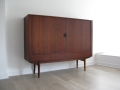 1950s Danish teak Arne Vodder highboard for Sibast Furniture
