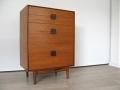 1960s teak chest of drawers IB Kofod Larsen G Plan