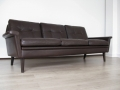 1960s Danish 3 seater leather sofa Skipper