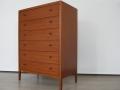 1960s teak Heals chest of drawers