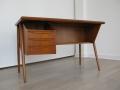1960s teak Danish Tibergaard desk