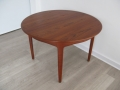 Danish teak table by Henning Kjaernulf for Soro Stole