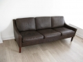 1970s Danish Mogensen style leather sofa