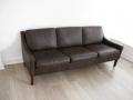 1970s Danish Mogensen style leather sofa
