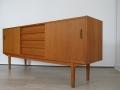 1960s teak trio Troeds sideboard