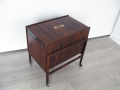 Compact 1960s rosewood drinks cabinet