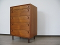 1960s teak Meredew chest of drawers