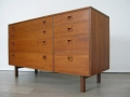 1960s teak Alfred Cox chest of drawers