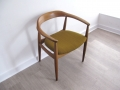 1960s carver chair by Illum Wikkelso for Niels Eilersen