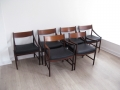 Solid rosewood McIntosh dining chairs
