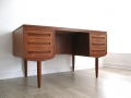 Danish teak desk by J Svenstrup AP Mobler