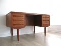 Danish teak desk by J Svenstrup AP Mobler