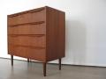 1960s Danish teak chest of drawers