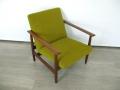 1960s Danish teak armchair