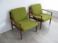 1960s teak Grete Jalk chairs