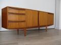 1960s teak and rosewood McIntosh sideboard