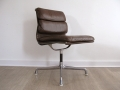 Eames Herman Miller softpad leather chair