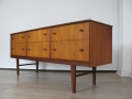 1960s teak chest of drawers/sideboard