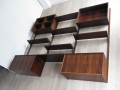 1970s rosewood Cado wall unit