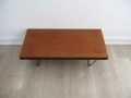 1950s S range Stag coffee table