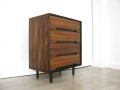 1950s C range Stag chest of drawers