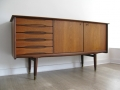 Teak sideboard by Alf Aarseth for Gustav Bahus