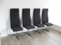 Fritz Hansen Arne Jacobsen Oxford chairs