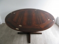 1960s flip flap rosewood table by Dyrlund