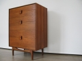 1960s Larsen G Plan chest of drawers