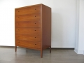 1960s teak Heals chest of drawers