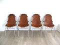 Les Arcs Charlotte Perriand chairs