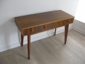 1950s zebrano console table Morris of Glasgow