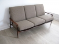 1960s teak new yorker guy rogers sofa