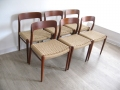 75 chairs J.L. Moller