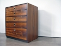 1960s Heals rosewood chest of drawers
