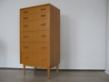 1950s tallboy chest of drawers