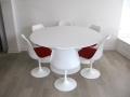 Saarinen Knoll Tulip table & chairs