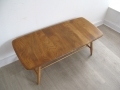 Solid elm Ercol Windsor coffee table